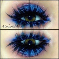 lashes + blue shadow <3| http://amykinz97.tumblr.com/  | https://instagram.com/amykinz97/ |