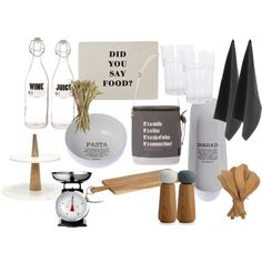 Must have kitchen stuff by wenche-andersen on Polyvore featuring interior, interiors, interior design, home, home decor, interior decorating, Elvang, Kähler and kitchen