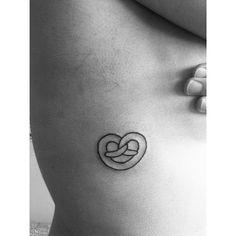 Image result for pretzel tattoo