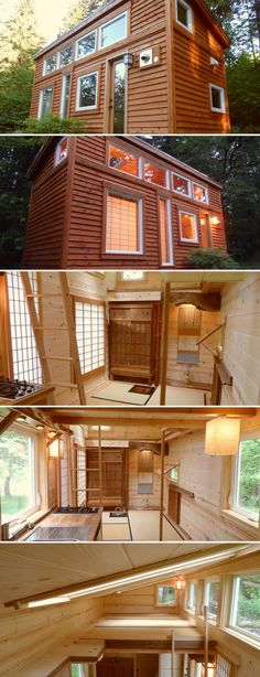 This Tea House was built by the Oregon Cottage Company for a Japanese client wanting an authentic tearoom similar to what she had as a child in pre-war Japan. The Tea House includes shoji screens, tatami mats, and two storage drawers are under the raised floor.