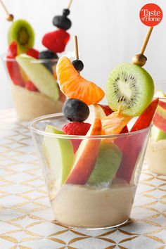 39 Allergy-Free Treats You Can Bring to the Classroom Appetizers For Kids, Appetizer Dips, Best Deviled Eggs, Dessert Dips, Allergy Free Recipes, Easy Snacks, Easy Desserts, Food Allergies, Clean Eating Snacks