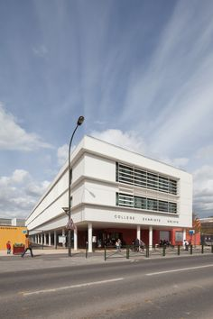 © 11h45 / Collège Évariste Gallois Bourg-la-Reine (92) - Pascal Sirvin Architecture