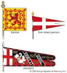 Image result for medieval banner tail types