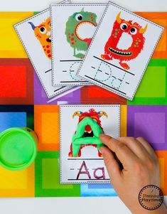 Monster Theme Join our Email Group for Ideas, Freebies & Special Offers.Do you want to teach a Monster Theme Unit in your preschool? This set is packed wi Monster Activities, Preschool Learning Activities, Play Based Learning, Preschool Themes, Preschool Classroom, Preschool Worksheets, Educational Activities, Nursery Activities, Alphabet Activities