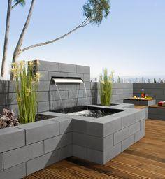 Vanity®-Mauer - Zeitloser Stil und Klasse für den Außenbereich, das bietet unsere Vanity-Mauer. Die edel satinierte Oberfläche sorgt je nach Lichteinfall für interessante Glitzereffekte.