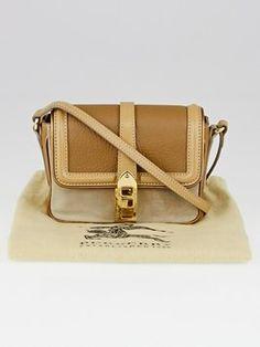 #Burberry bag in Beige Suede/Leather #CrossBodyBag visit Tradesy store https://www.tradesy.com/bags/burberry-jit11112147y395-cross-body-bag-beigegold-5087530/?tref=closet