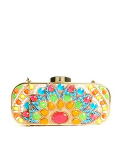 River Island Neon Clutch!!! Perfect for summer!