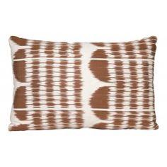 Ikat Pillow - Bronze