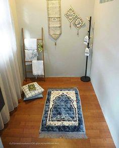 Inspirasi Home Dekorasi Rumah ( Islamic Decor, Islamic Wall Art, Home Decor Wall Art, Home Decor Furniture, Prayer Corner, Room Corner, Islamic Prayer, Prayer Room, Bedroom Wall