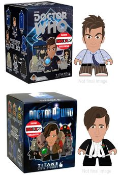 Fan Expo Titans 10th/11th Doctor Variants