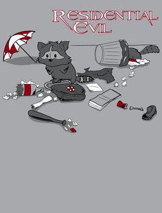 Resident Evil - Raccoon