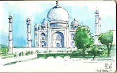 Taj Mahal by renefijten, via Flickr