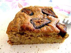 Lemon Fig Cake (Coconut Flour) Delicious, Moist Cake using Coconut Flour and Dates! Paleo