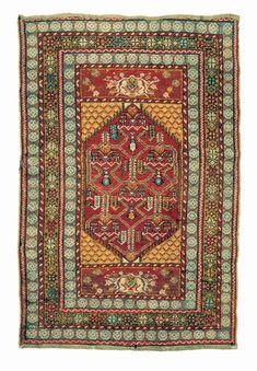 Turkish Kirsehir rug, 20th century