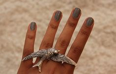 love the ring! ... and nails
