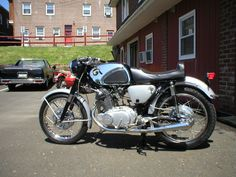 1966 Honda 305 Superhawk in factory optional roadrace trim....frame up restoration by Collins Classic Cycles