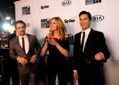 Julia Roberts,Dermot Mulroney and Matt Bomer. TV Guys Choice 4th.June 2016TV