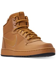 a1c629dd64011c Nike Men s Ebernon Mid Winter Casual Sneakers from Finish Line - Yellow 8