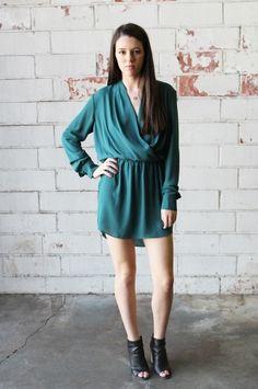 Grecia Dress from Kaya Di Koko. 100% Polyester Crepe, Nylon Lace Skirt is lined. $116