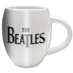 The Beatles Boxed Oval Mug: Drop T Logo & Apple Wholesale Ref:BEATMUG38