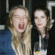 Cool Kids Club, Lucy Boynton, Anya Taylor Joy, People Icon, Emma Roberts, Couple Photos, Clothes, Kissing, Bb