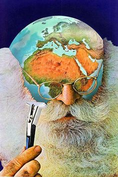 Deforestation via Eugenia Loli Collage. Click on the image to see more!