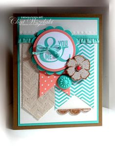 Perfect Pennants, Me, My Stamps and I, Stampin' Up