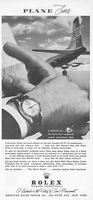 Rolex Zephyr Watch 1958 Ad Picture