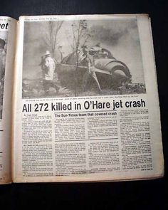 American Airlines Flight 11 | Hare Airport American Airlines Flight 191 Airplane CRASH1979 Chicago ...