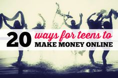 I have received a couple of messages this year from high school students and teens under 18 that would like to make money online. If you are a teenager or if you have a teenager, I have some soluti...