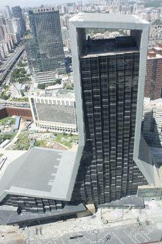 CCTV – Television Cultural Centre. OMA (2002-2010)