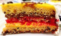 Zuppa inglese italian layer cake