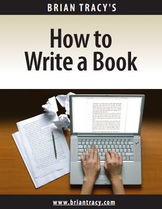 Learn how to write a book
