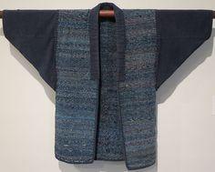 File:Sakiori (rag woven) work jacket from Japan, Honolulu Museum of Art, 9074.1.JPG