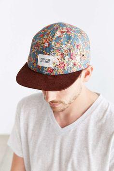 c2d576d0d2c Profound Aesthetic Portland Suede Brim 5-Panel Hat