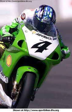 Yanagawa practicing for the 1999 Laguna Seca World Superbike race. - Kawasaki - ID: 116 Kawasaki Zx7r, Kawasaki Ninja, Kawasaki Motorcycles, Cars And Motorcycles, Classic Bikes, Super Bikes, Road Racing, Cool Bikes, Freedom