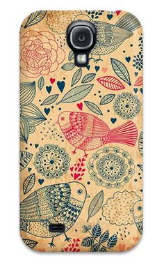 Galaxy S4 Case, Samsung S4 cases, Galaxy S4 Hard Cover, Case for Galaxy S4, Decoupage Case