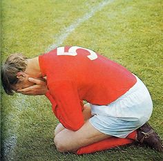 Jackie Charlton at the conclusion of the 1966 World Cup final.