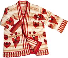 Flower jacket. Design Christel Seyfarth
