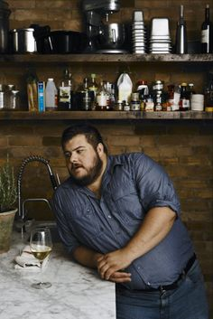 Casual in the Kitchen Plus Size Men's Clothing Style for the big boys! Swag. Cute. Huggable! Beard