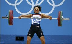 "116d: This image of British ""clean and jerk"" athlete Zoe Smith is unsettling. Smith is masculinized by the emphasis of her bulging muscles and visceral expression."