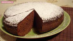 Torta Margherita al cioccolato fondente