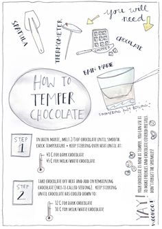 How to Temper Chocolate — Erika Rax How To Temper Chocolate, Chocolate Work, Modeling Chocolate, How To Make Chocolate, Chocolate Bowls, Blackberry Syrup, Chocolate Covered Pretzels, Chocolate Decorations, Candy Making