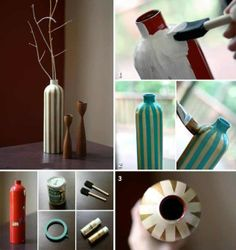 Recycle Glass Bottles - Second Life Projects