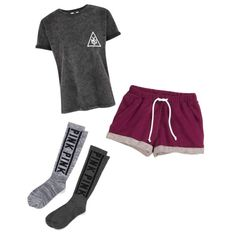 lazy by maddie-medsker on Polyvore featuring polyvore fashion style Victoria's Secret H&M