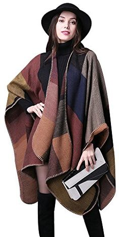 Ilishop Women's Winter Reversible Oversized Blanket Ponch... https://www.amazon.com/dp/B01ANHDQC8/ref=cm_sw_r_pi_dp_x_Sv2Xzb8ZPG7TH