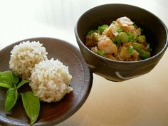 Cooked Together in A Rice Cooker ★ Sweet Rice Shumai (Siumai) Dumplings and Okowa Rice