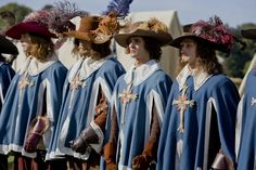 So What Did The King's Musketeers' (Mousquetaires du Roi) Uniforms Look Like? The Three Musketeers, Season 8, Guy Names, Ouat, Cowboy Hats, Russia, Third, Hollywood, King