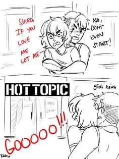 I love Hot Topic! <<< KEITH IS ME