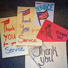 Proud to send out over 70 cards handwritten by #Stanford grad students to #Veterans, Servicemembers, and #WoundedWarriors this #VeteransDay  #OperationGratitude